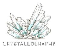 Crystallography logo